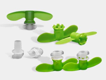 Verschlüsse für Squeeze-Verpackungen