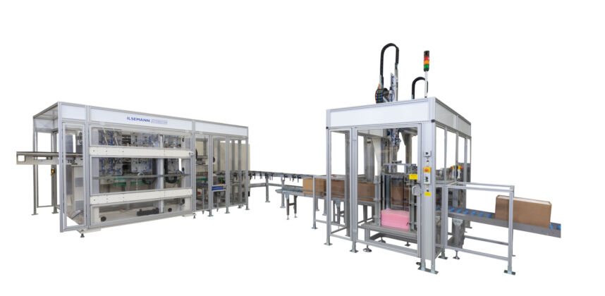 CARTONING MACHINES AND PALLETIZERS